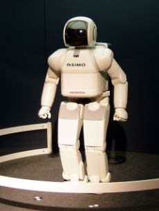 Japanese-designed Robot Assimo